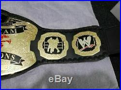 World Tag Team Wwe Wrestling Champions Adult Belt