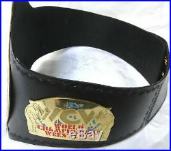Wrestling Championship Belt 2mm Brass Plates