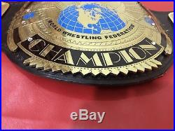Wwf Big Eagle Championship Belt In 4mm Brass Plates