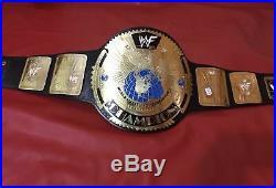 Wwf Big Eagle Scratch Logo Championship Belt In 4mm Brass Plates