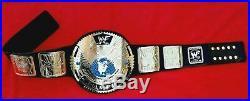 Wwf Big Eagle Scratch Logo Wrestling Champion Belt 4mm Zinc &24kt Gold Plating
