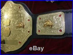 Wwf Big Gold Championship Belt In 4mm Brass Plates