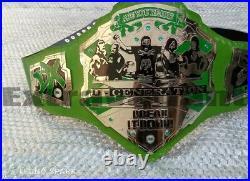 Wwf D Generation X Championship Wrestling Belt 4mm Zinc Plated Adult Size
