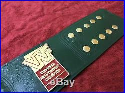 Wwf European Championship Wrestling Belt In 4mm Zinc Plate