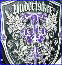Wwf Undertaker The Phenom Title Wwe Wrestling Replica Championship Belt
