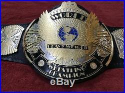 Wwf Winged Eagle Wrestling Champion Belt 4mm Zinc Plated Belt